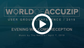 WOA welcome reception video